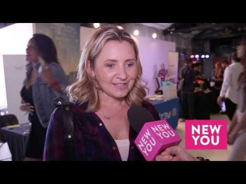Beverley Mitchell at the Kari Feinstein Style Lounge