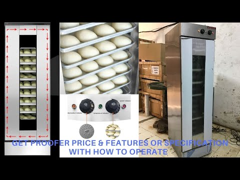 Commercial Proofer Machine For Bakery, Bread, Dough &  Proofer Price In India