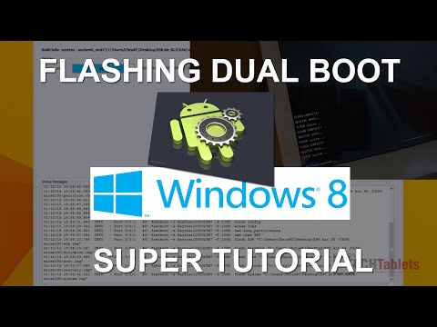 X98 Air 3G: Flash Dual Boot Bios, Android, Install Windows And Drivers
