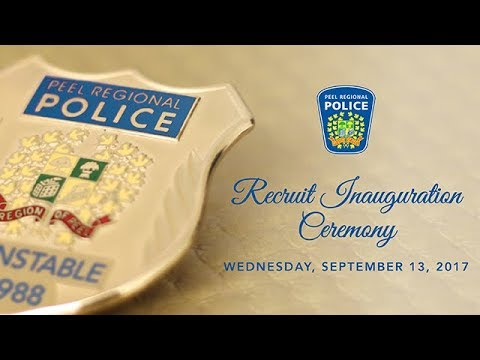 Recruit Inauguration Ceremony – September 2017