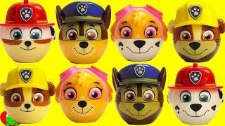 Paw Patrol Radz Candy Dispensers Chase, Marshall, Rubble, Skye Mix and Match