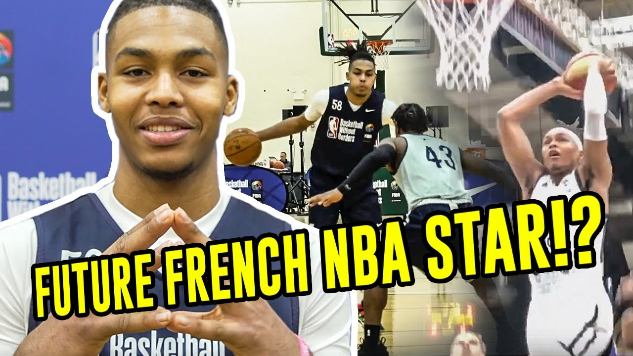 French Star Juhann Begarin Has NBA TALENT! 2021 Draft Prospect Opens Up On Favorite Players & More!
