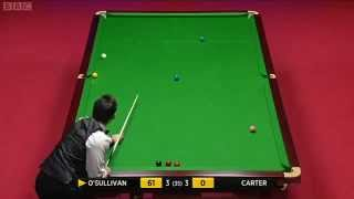Ronnie O'Sullivan Historic 92 Clearance, 2012 World Snooker Championship Final