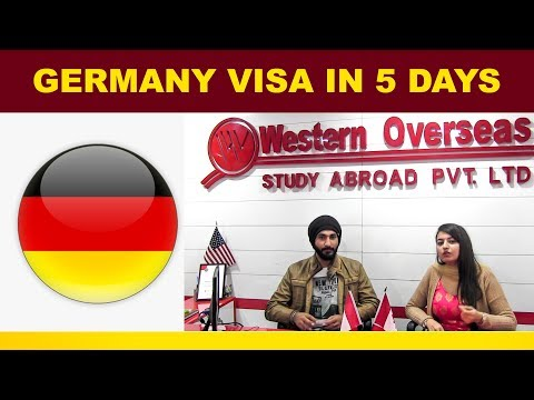 Germany Visa in 5 Days - Apply for Next INTAKE