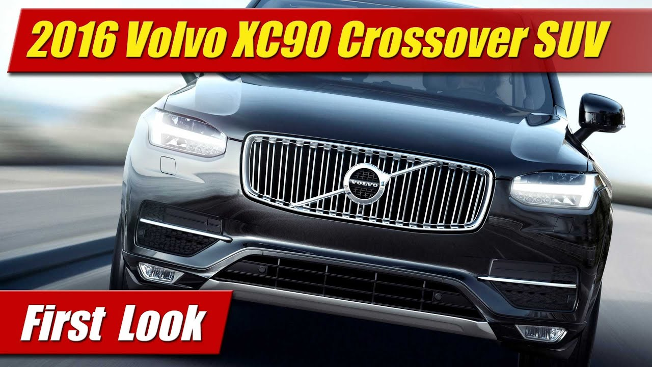 volvo xc crossover suv youtube