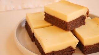 크림치즈 브라우니 만들기 (치즈케이크 브라우니) | K…
