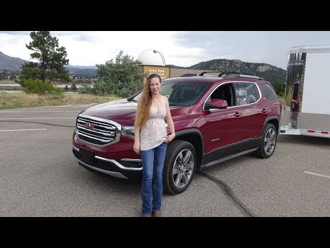 2018 GMC Acadia review with Kent and Kelsey, Cooper Tire review