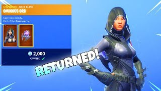 FATE SKIN RETURNS! (New Item Shop) Fortnite Battle Royale