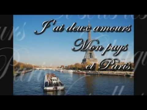 j'ai deux amours, mon pays et Paris