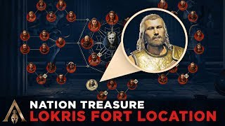 How to Find The Nation Treasure in Lokris Fort (Cultist Clue Location) - Assassin