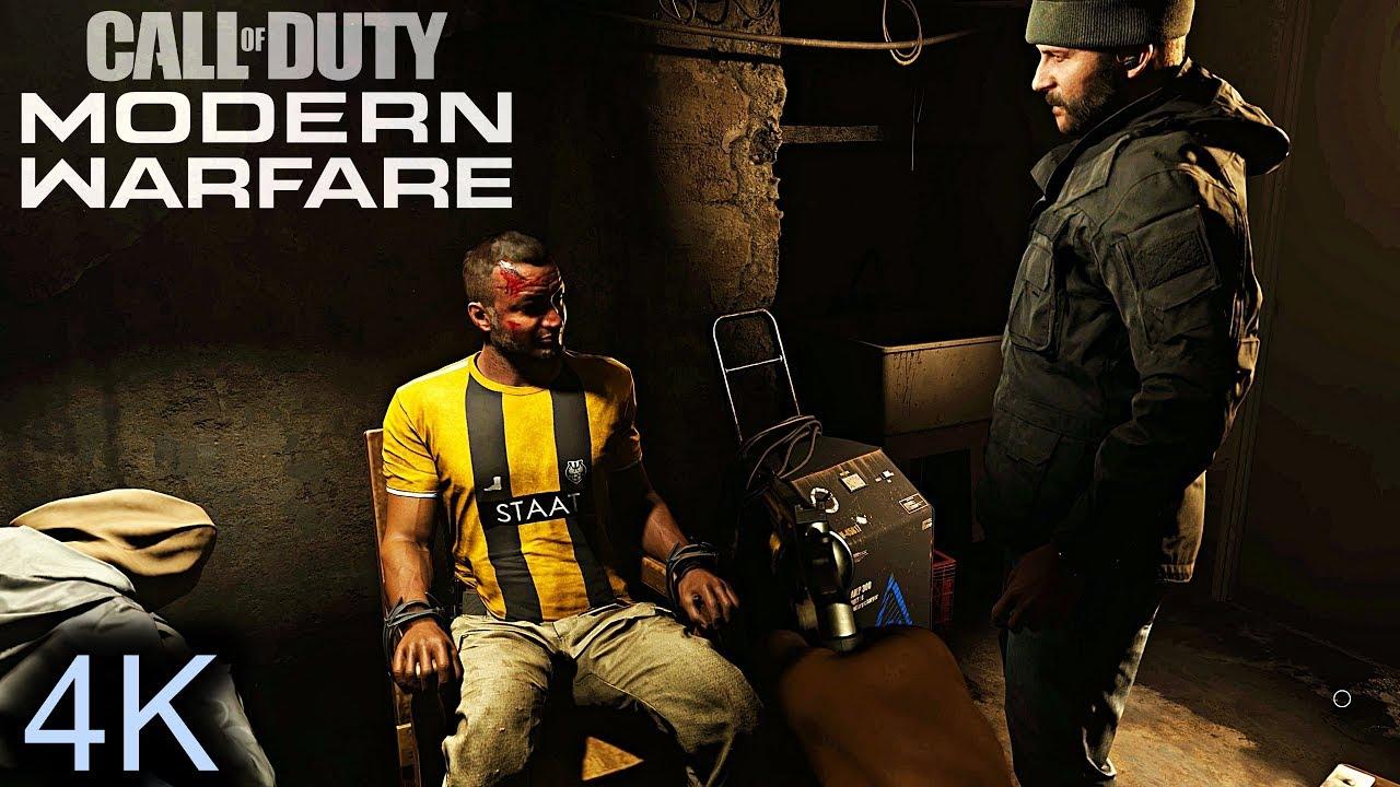 COD: Modern Warfare (2019) - Interrogating the Butcher ...