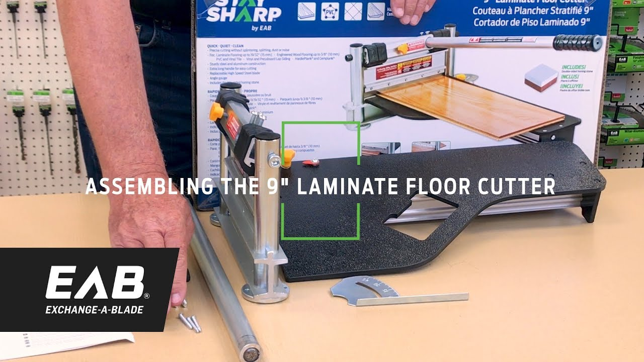 Laminate Floor Cutters 9 Stay Sharp Eab Tool Company