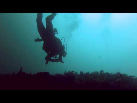 Diving at the Wreck of the Three Brothers, Blasket Islands, Dingle-Peninsula, Ireland