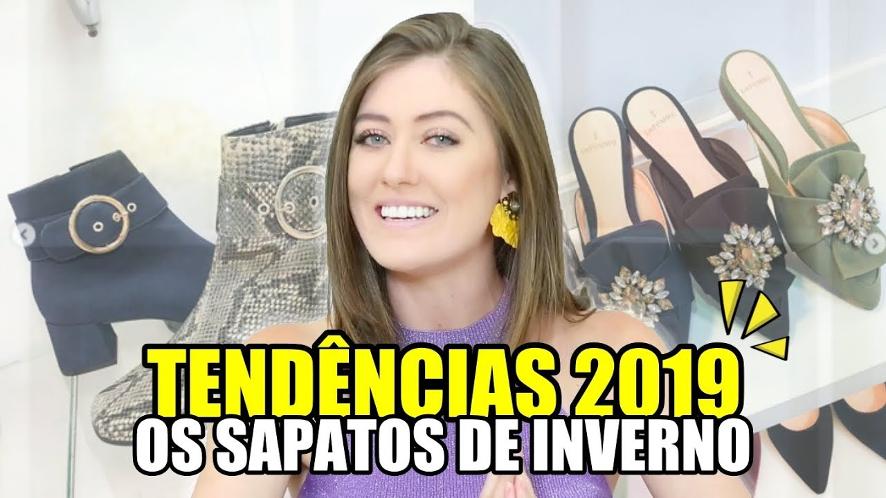 374e0de949 OS SAPATOS QUE SERÃO TENDÊNCIA NO INVERNO 2019 - Vitória Portes ...
