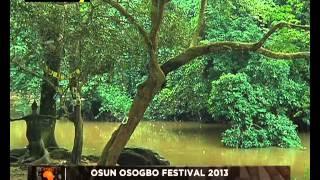 Africarts...Osun-Osogbo Festival 2013 (Part A)