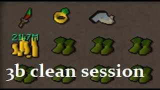 WTF S7VEN - 3B Clean Session 07 Scape & 3b+ bank vid [100m+ stakes]