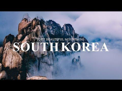 SOUTH KOREA Travel, 7 Beautiful Korean Mountains