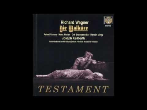 Wagner, Die Walkure, Part 1, Der Ring des Nibelungen, Keilberth, 1955, 432hz, HQ, FLAC