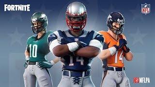 Fortnite Battle Royale NFL Skins Community Stream (New England Patriots!)