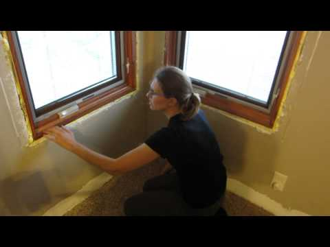 Lowe's installed Pella replacement windows & water leaked in master bedroom on May 1st 2014