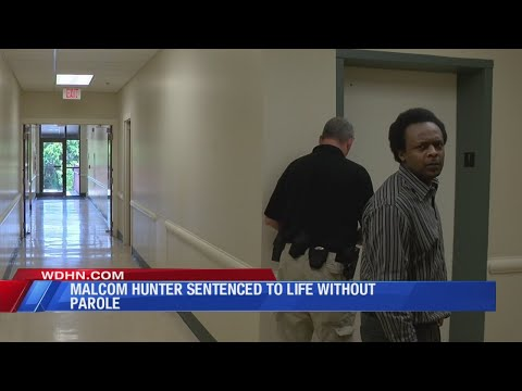 Hunter sentence to life without Parole