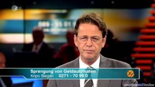 Aktenzeichen XY... ungelöst 25.07.2012 | ganze Sendung am Stück | ZDF | Juli 2012
