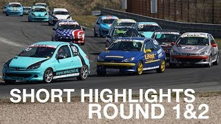 206 GTi Cup 2019 - Round 1 & 2 Short Highlights