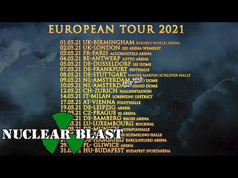 NIGHTWISH - European Tour 2021 (OFFICIAL TRAILER)
