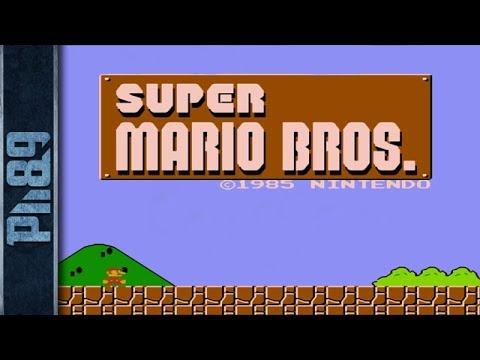 Super Mario Bros. (1985) Full Walkthrough NES Gameplay [Nostalgia] (NO WARP)
