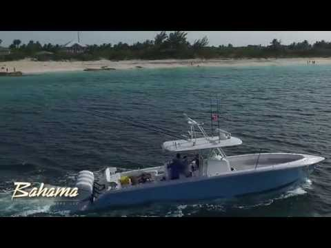 Lee Pitman and Family - On their NEW Bahama 41!