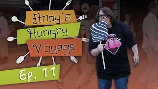 Andy Milonakis Visits the Copenhagen Carnival | Andy's Hungry Voyage