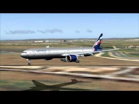 SU502 777 - 300ER AEROFLOT MOSCOW UUEE - TEL AVIV