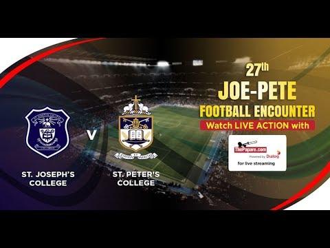 27th St. Joseph's - St. Peter's Football Encounter
