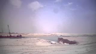مدخل أول معدية على قناة السويس الجديدة بالقطاع الاوسط