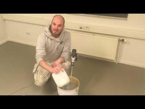 Sådan laver du et epoxygulv - Epoxybelægning med EP-SL