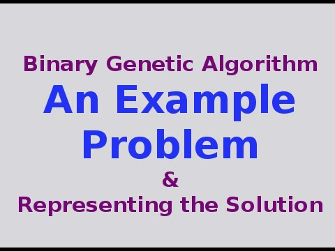 Genetic Algorithms 630 Example Problem Dashed Line Detection