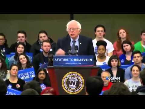 Bernie Sanders Ohio Rally 2-25-2016