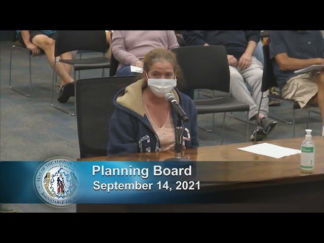 Planning Board 9-14-21