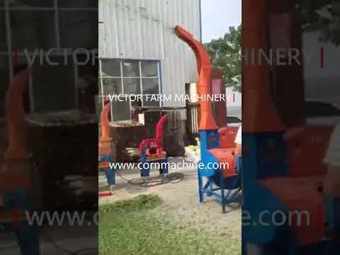 Chaff Cutter Machine For Cattle Feed Processing In Vietnam