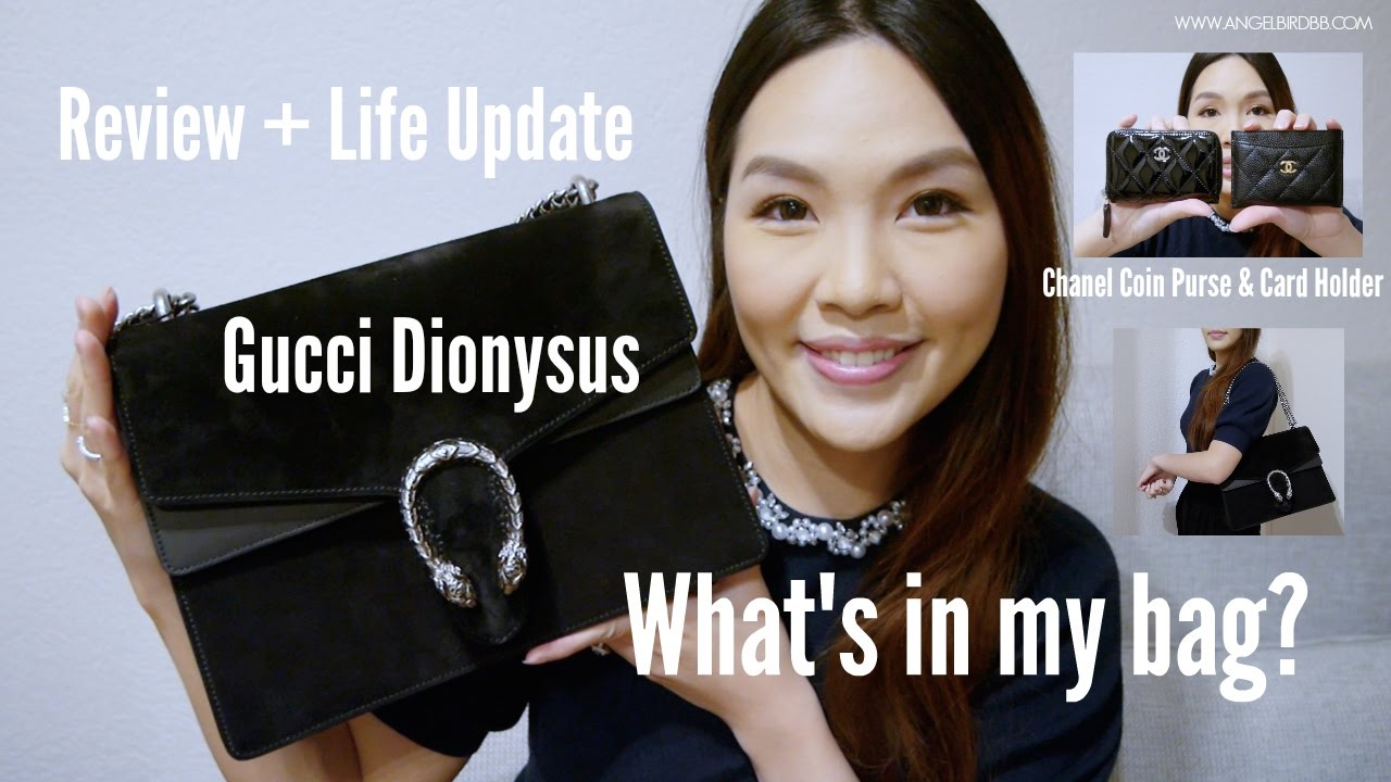 a006ff5e7d4 WHAT S IN MY BAG ♥ GUCCI DIONYSUS