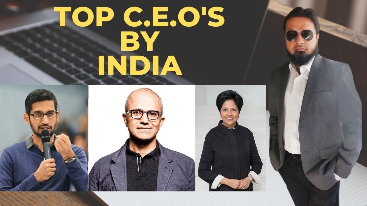 Top 4 Famous Ceos Indian Ceos Why The Pakistan Has Not Business Leaders Youtube