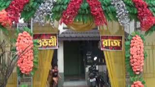 Raj Chakraborty & Subhashree Ganguly take a part in Ashtamangala rituals