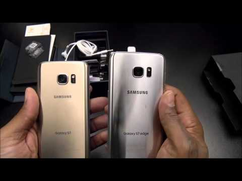 Samsung Galaxy S7 Edge Unboxing and First Impressions
