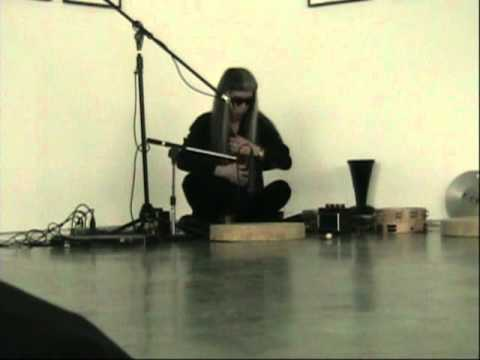 Haino Keiji Voice Performance+Percussion Dance(part1)@Taka Ishii Gallery(2011.2.26)