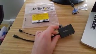 StarTech.com MDP2VGAA Mini DisplayPort to VGA Adapter with Audio Review