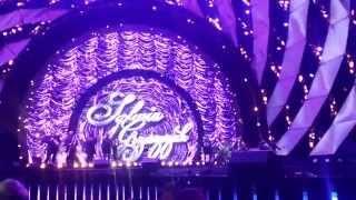 Sylwia Grzeszczak Sen  przyszłości Małe rzeczy Pożyczony Księżniczka koncert Gdynia 31.12.14