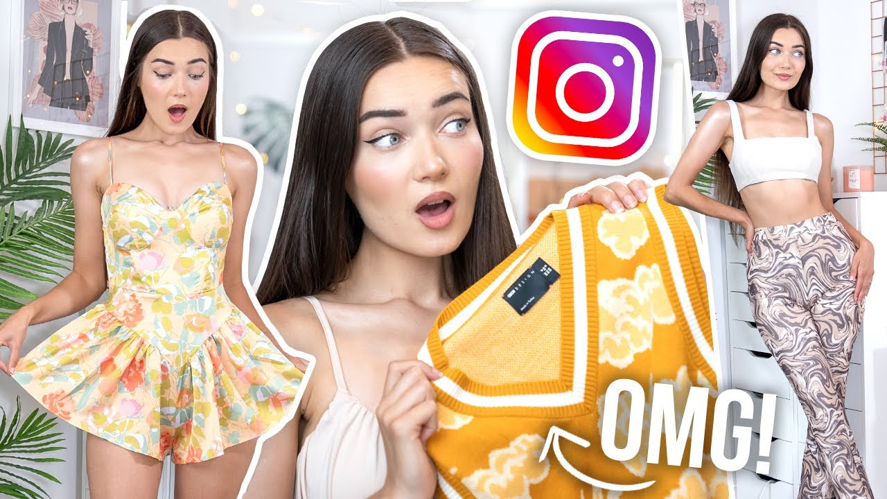 TRYING ON TRENDY INSTAGRAM CLOTHING... IS IT WORTH THE HYPE!?