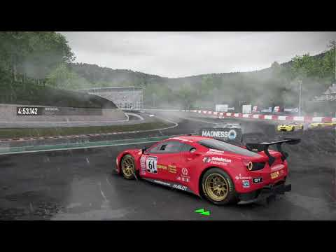 Project CARS 2 - Weather Timelapse - Clear/Rain/Thunderstorm/Clear