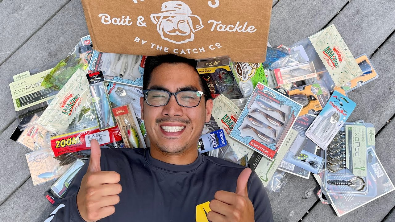 I BOUGHT SO MUCH FISHING TACKLE!!! ($200 Summer Bass Lure UNBOXING)