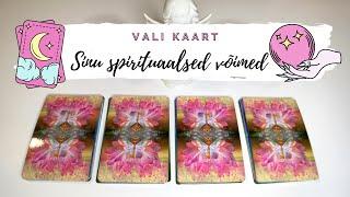 🔮💫 Sinu SPIRITUAALSED VÕIMED JA ANDED ⭐️🔮 (Vali Kaart)